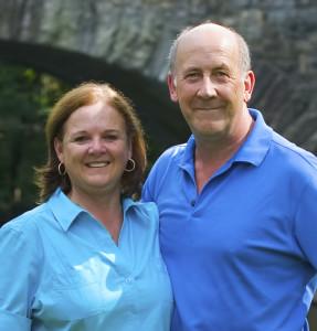Bill Gent and Diana Russler
