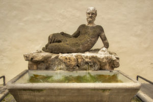 One of Rome's talking statues, Il Babuino