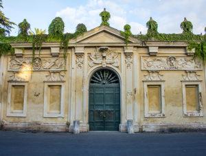 Priory of Knights of Malta, keyhole door