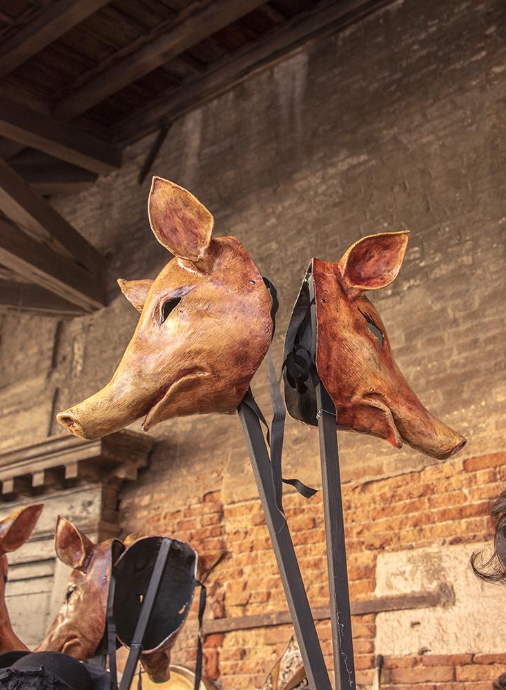 Masks of Pigs, Venice, ©BillGent
