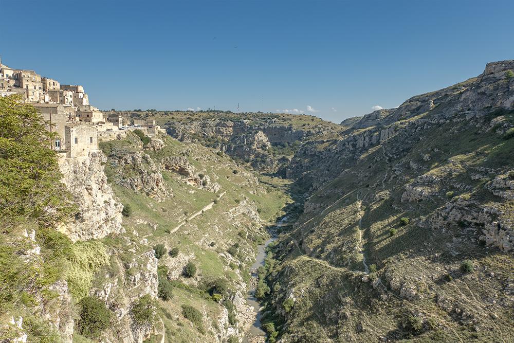 Matera's Gravina River
