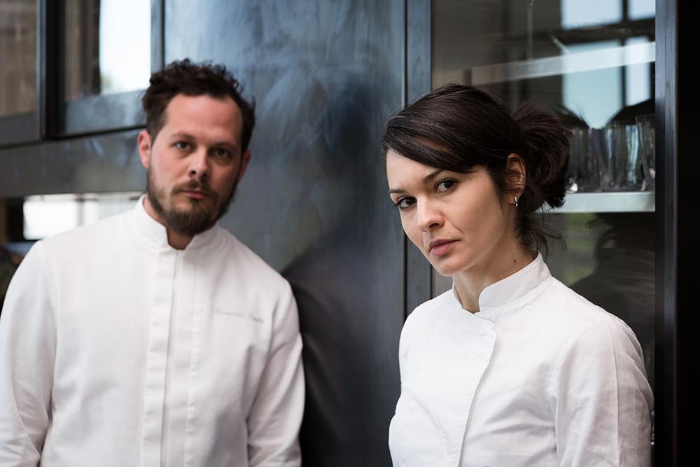 Francesco Brutto and Chiara Pavan, award-winning chefs at Venissa ©mattia-mionetto